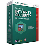 Logiciel Antivirus Kaspersky Internet Security Multi Device 2016   1 an