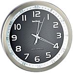 Horloge murale radio pilotée TechnoLine 30 (D) x 30 (l) cm Noir