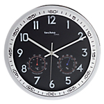 Horloge Murale à Quartz TechnoLine 30 (D) x 30 (l) cm Noir