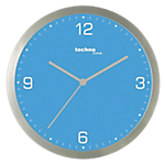 Horloge murale TechnoLine 30 (D) x 30 (l) cm Bleu