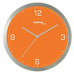 Horloge murale TechnoLine 30 (D) x 30 (l) cm Orange
