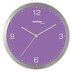Horloge murale TechnoLine 30 (D) x 30 (l) cm Violet