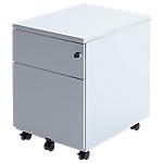 Caisson à tiroirs mobile 2 tiroirs Pierre Henry Integral 41,8 (L) x 54,1 (l) x 56,7 (H) cm Blanc