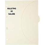Pochette SMARTFOLDER Bulletins de salaire A4 300 g