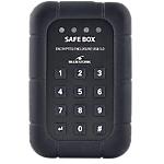 Boîtier sécurisé pour disque dur 2.5 po BLUESTORK Safe Box Noir   1 boîtier + 1 étui
