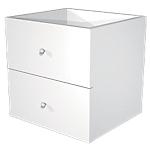 Tiroirs Artexport Burocolor 28,8 (l) x 32,5 (H) cm Blanc