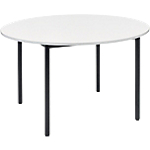 Table ronde Sodematub Cafétéria 74 cm Gris