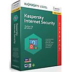Mise à jour antivirus Kaspersky Internet Security 2017   1 an 3 postes