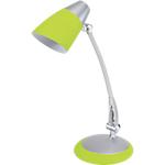 Lampe de bureau Fluo Fluorescente 13W E27 Alba Fluofit Argenté, vert