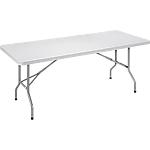 Table pliante Sodematub 122 (l) x 61 (P) x 74 (H) cm Gris