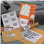 2400 étiquettes blanches pour copieur   Avery   70 x 36 mm