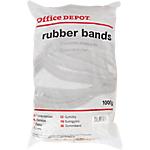 Bracelets élastiques en caoutchouc Office Depot 1000 g   Sac de 1 kg