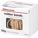 Boîte de 100g de bracelets élastiques   Office DEPOT   80 x 1.6 mm