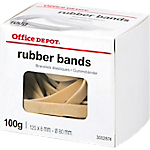 Boîte de 100g de bracelets caoutchouc   Office DEPOT   120 x 8 mm