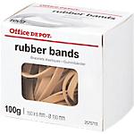 Boîte de 100g de bracelets caoutchouc 150 x 6 mm