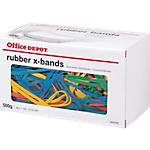 Bracelets élastiques Office Depot   Sac de 500 g