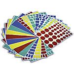 Gomets geométricas APLI Surtido 956 etiquetas por paquete Paquete de 20