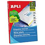 Etiqueta multifunción APLI 1281 blanco 210 (a) x 297 (h) mm 100 etiquetas por paquete
