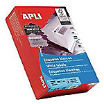 Etiqueta adhesiva APLI 1787 blanco 210 (a) x 148 (h) mm 1000 etiquetas por paquete