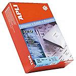 Etiqueta adhesiva APLI 1785 blanco 105 (a) x 37 (h) mm 8000 etiquetas por paquete
