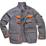 Chaqueta Panoply Mach II poliéster, algodón talla xxl gris, naranja