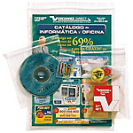 Bolsa seguridad con banda Rubbermaid transparente 200 microns 120 (a) x 170 (h) mm 100unidades