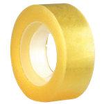 Cinta adhesiva Office Depot amarillento 19mm (a) x 33m (l) 8rollos