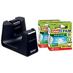 Dispensador cinta adhesiva tesa Easy Cut SMART negro 33m (l) x 1,9cm (a)