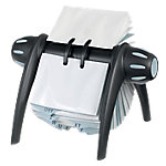 Tarjetero rotativo DURABLE Visifix Flip negro 400 Tarjetas 21,5 (a) x 18,5 (p) x 12 (h) cm 200fundas