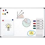 Pizarra blanca Office Depot Standard acero magnético 120 x 90 cm