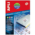 Etiqueta APLI Removible blanco 36,8 (a) x 23,8 (h) mm 5500 etiquetas por paquete