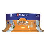 DVD R Verbatim 4.7 gb 25unidades
