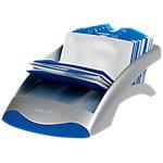 Tarjetero lineal DURABLE Visifix Desk Plata, Azul 200 Tarjetas 13,1 (a) x 24,5 (p) x 6,7 (h) cm