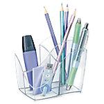Cubilete CEP Ellypse transparente 4 compartimentos 11,8 (a) x 9,8 (h) x 8,9 (p) cm