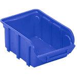 Contenedor de almacenaje Viso apilable 16 (a) x 7 (h) x 7 (p) cm azul 1.000ml