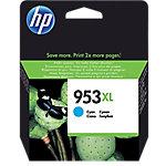 Cartucho de tinta HP original 953xl cian f6u16ae