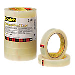 Cinta adhesiva Scotch 550 transparente 19mm (a) x 66m (l) 8 rollos