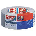 Cinta de tela Tesa americana gris 51 µm 48mm (a) x 50m (l)