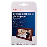 Papel fotográfico profesional Office Depot 10 x 15 cm brillante 270 g