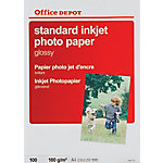 Papel fotográfico Office Depot A4 brillo 180 g