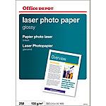 Papel fotográfico Office Depot A4 brillante 135 g