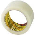 Cinta de embalaje 3M Clásico transparente 48 µm 50mm (a) x 66m (l) 6rollos