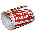 Etiqueta envío Apli Contiene albarán 100 (a) x 50 (h) mm rojo y blanco 200etiquetas