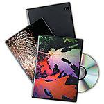Estuche para DVD Fellowes 1 DVD 10Unidades