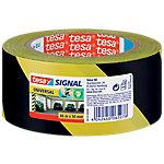 Cinta señalizadora tesa Signal Universal negro, amarillo 50mm (a) x 66m (l)