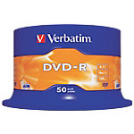 DVD R Verbatim 4.7 gb 50unidades