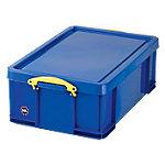 Caja de almacenaje Really Useful Boxes polipropileno 44 (a) x 23 (h) x 23 (p) cm azul