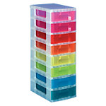 Torre de Almacenaje Really Useful Boxes surtido plástico 30 (a) x 42 (p) x 92,5 (h) cm