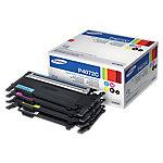 Tóner Samsung original clt p4072c negro & 3 colores paquete 4