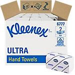 Toallita secamanos Kleenex Ultra 6777 3 capas Caja de 30